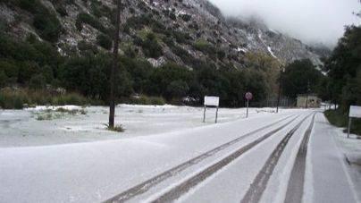 La cota de nieve en Mallorca se situará mañana en los 1000 metros