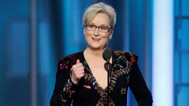 Meryl Streep ataca a Trump en su discurso