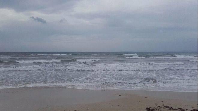 Alerta en el norte de Mallorca por fuertes vientos y olas de 4 metros