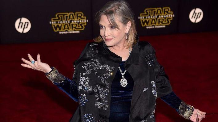 La causa de la muerte de Carrie Fisher sigue siendo un misterio