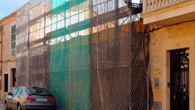 ARCA denuncia la destrucción parcial de una casa catalogada de Santanyí a causa de unas obras