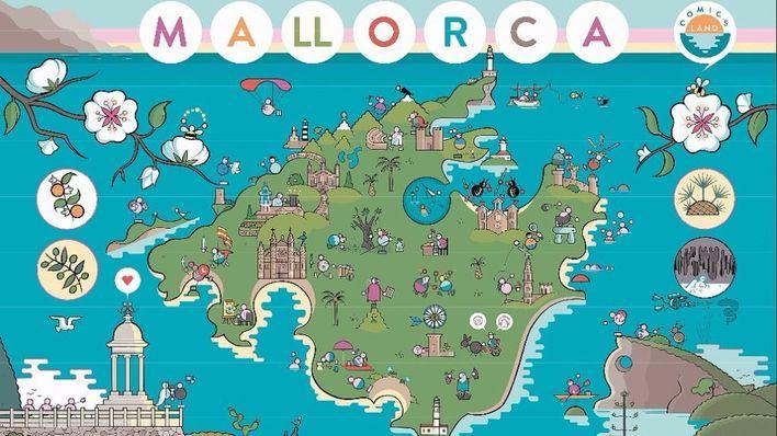 Mallorca utilizará el cómic para promocionarse en Fitur