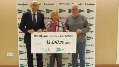 El Corte Inglés entrega 12.000 euros a Aspanob