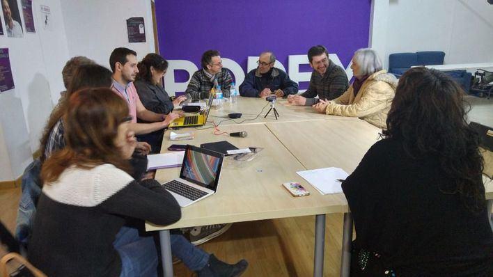 El Consejo Ciudadano de Podem tras la reunión con los partidos del Pacte