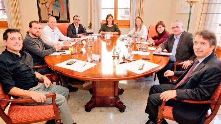 Frente común de todos los partidos para reclamar a Madrid una mejor financiación para Balears