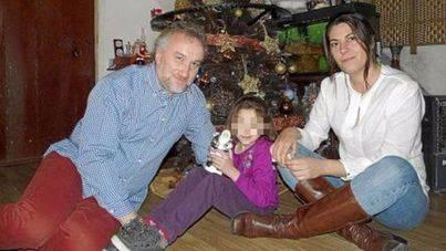 Fernando Blanco y Margarita Garau junto a su hija, Nadia Nerea