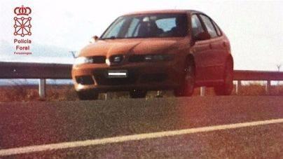 Multado por dar positivo en drogas cuando conducía a 184 km/h por Arguedas