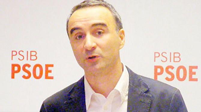 Imagen del diputado socialista en el Congreso de los Diputados, Pere Joan Pons
