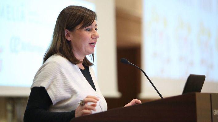 Imagen de la presidenta del Govern, Francina Armengol
