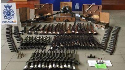 Fusiles de asalto, CETME, Bergmann, rifles Beretta y ametralladoras antiaéreas