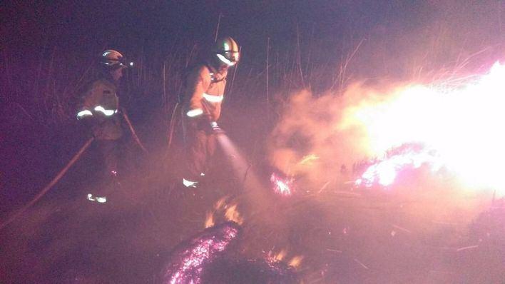 Controlado el incendio forestal de Pollença - Campanet