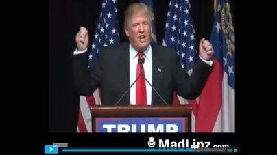 Donald Trump apoya el Sant Antoni de Artà