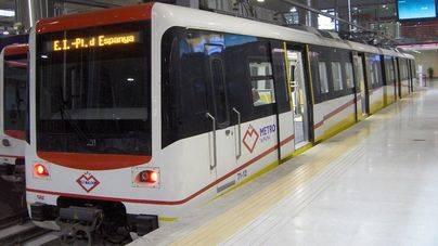 Aumenta un 7% el número de usuarios de metro
