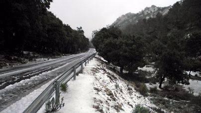Imagen de archivo de la Serra de Tramuntana nevada