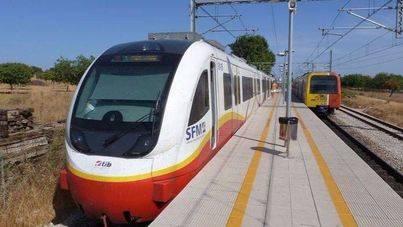 La huelga de trenes coincide con Sant Antoni y Sant Sebastià