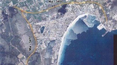 Comienza el asfaltado de las carreteras del Port d'Alcúdia y del Murterar
