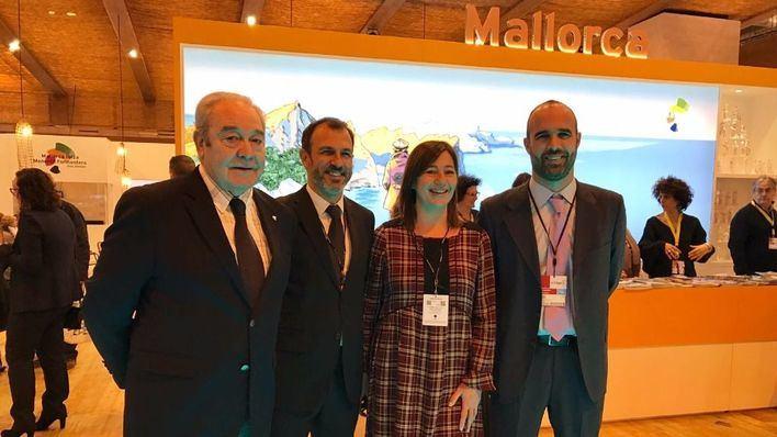 Francina Armengol, Gabriel Barceló, Jaume Monserrat y Juan Esteva