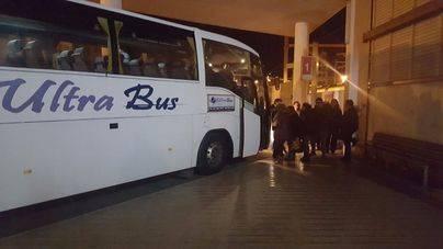SFM alquila autobuses para completar trayectos de tren