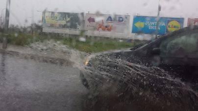 Prohibida la circulación por 8 pueblos del Pla a causa de las lluvias