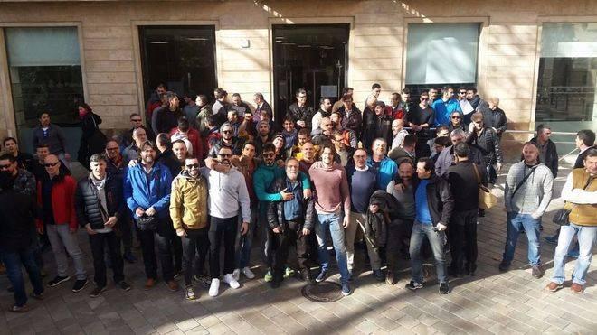 La Junta de Personal de Cort llama a la movilización en apoyo a los Bombers de Palma