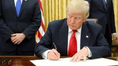 Trump tomó posesión de su cargo el pasado viernes 20 de enero