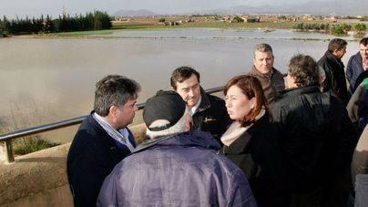 Mallorca mantiene 6 carreteras cortadas por inundaciones y desprendimientos