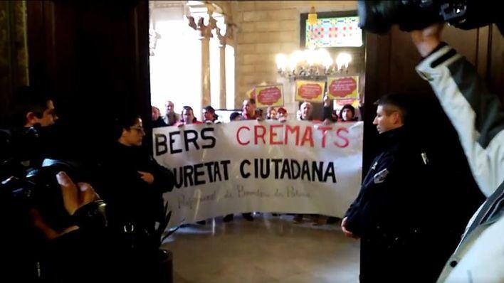 Policías y bomberos