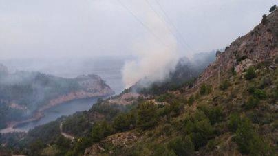 El incendio de la Mola de Tuent quemó en noviembre 8,6 hectáreas de matorral