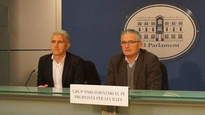 Josep Melià y Jaume Font, diputados de Proposta per les Illes