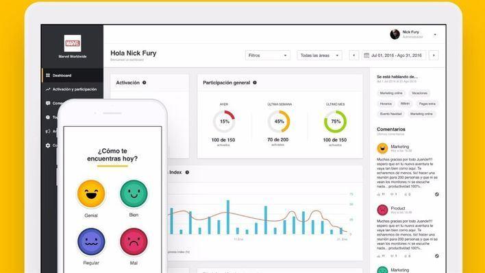 Un mallorquín crea una app que mide la felicidad de los trabajadores