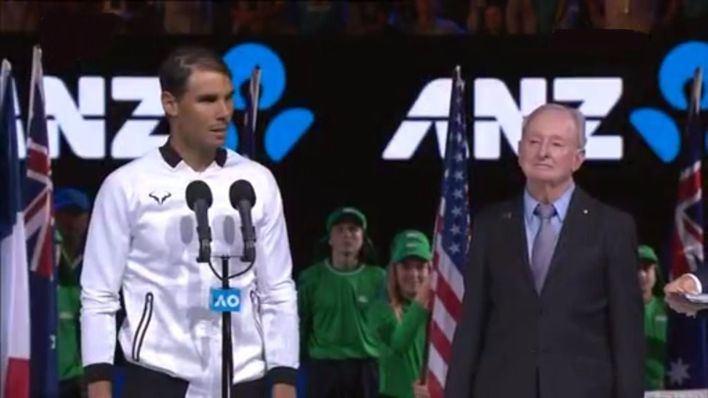 Nadal cae ante Federer en una final épica en Australia