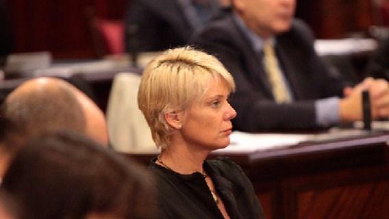 Aina Aguiló es una de las posibles candidatas a la presidencia del PP