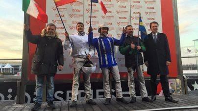 Un menorquín se proclama subcampeón de Europa en la catedral del trote