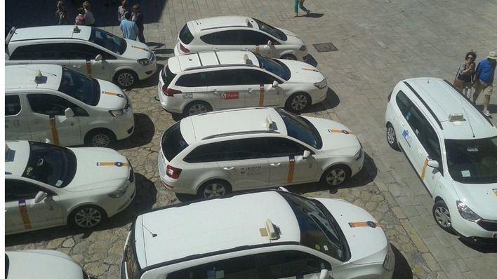 Los taxistas se manifestarán el 15 de febrero ante el Consolat
