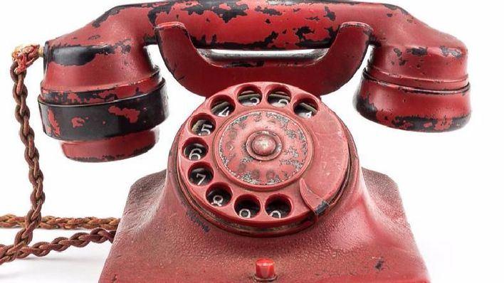 El teléfono de Hitler en el búnker de Berlín será subastado este mes