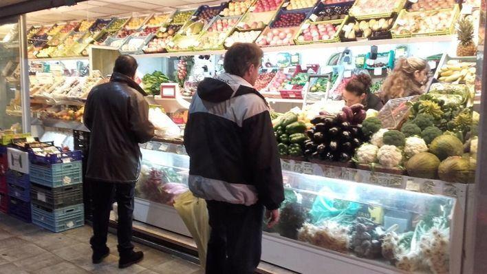 El precio de hortalizas y verduras ha subido por el temporal de frío