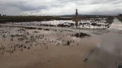 El Pla es una de las zonas más afectadas por las lluvias