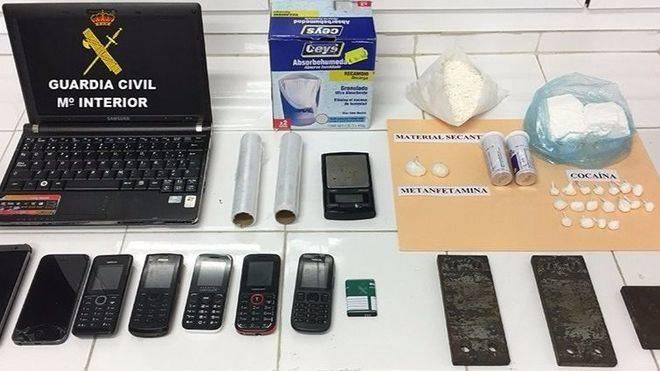 Detenido un hombre por vender cocaína y metanfetamina en Alcúdia