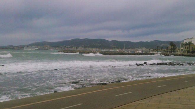 Llega este domingo un temporal de viento y mala mar que se intensificará el lunes