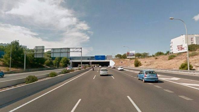 Imagen de archivo del tramo en el que fue localizada por la Policía Local