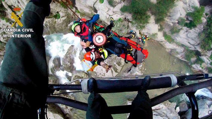 2 montañeros rescatados en los torrentes de Pareis y Coanegra