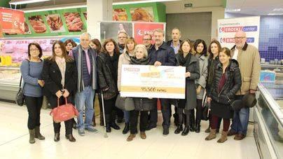 Eroski entrega 45.500€ a 13 ONG infantiles
