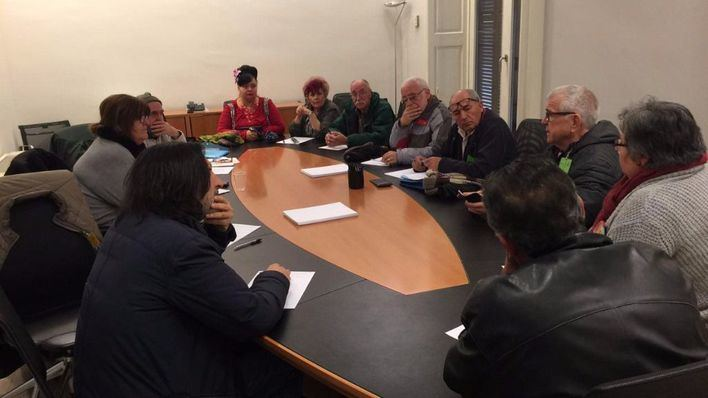 Huertas y Seijas se comprometen a mejorar las condiciones de los pensionistas
