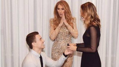 Un fan de Celine Dion le pide matrimonio a su novia ante la diva