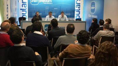 Miquel Vidal y Sebastià Sagreras copilotan el PP balear