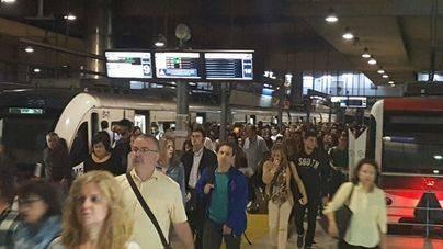 Unidad  a su llegada a la Estación Intermodal