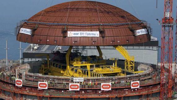 Explosión en una central nuclear de Francia