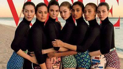 Las redes acusan a Vogue de 'adelgazar' a las modelos con photoshop