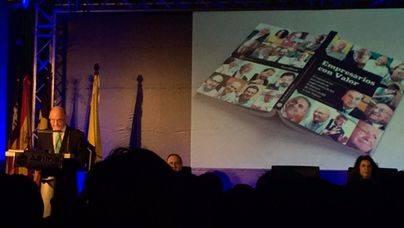 """El presidente de ASIMA presenta el libro """"Empresarios con valor"""""""