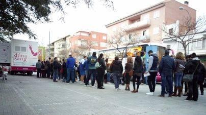 El llamamiento de Joan moviliza a 200 interesados en donar médula